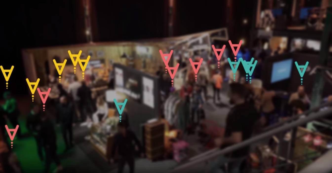 Messung und Analyse der Besucherfrequenzen - Live marketing TRACKIT